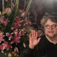 15 april 2018 (Malaga,andalucia,spain) The Mexican director Guillermo del Toro has been awarded at the 21st edition of the Malaga Festival. Cinema in Spanish with the Malaga-SUR Award, which was presented this Saturday at the Teatro Cervantes by the actress Marisa Paredes and the actor Ron Perlman
