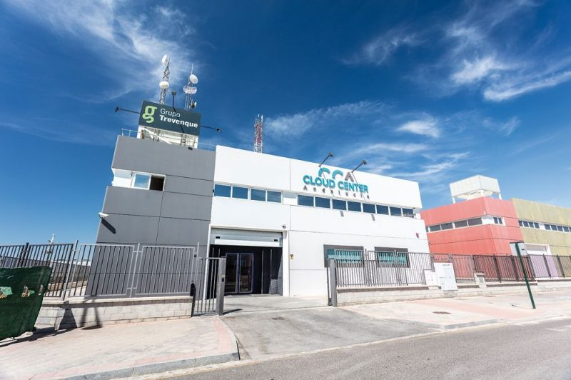 Instalaciones del centro de datos Cloud Center Andalucía