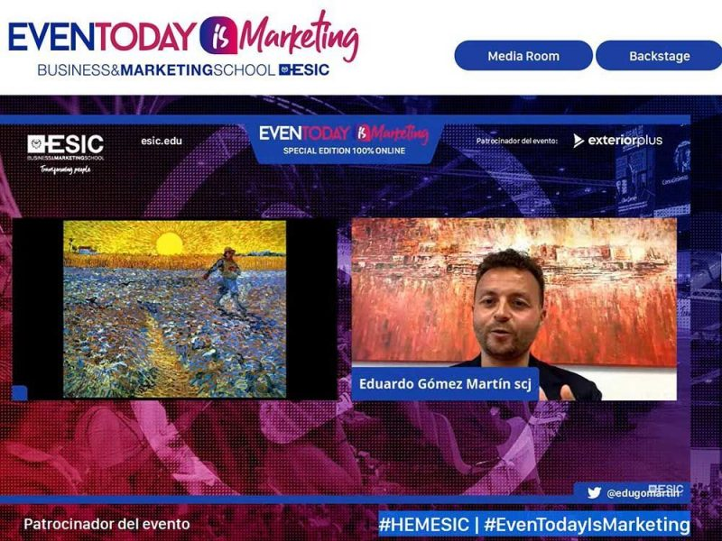 """Encuentro digital """"Even Today is Marketing""""."""